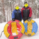 Санки-ватрушка Globus Water & Snow (90 см)