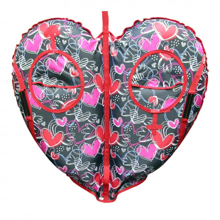 Санки-ватрушка Yukon Сердце (105 см)